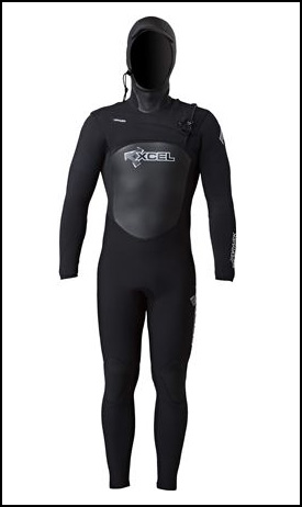 hooded full suit wetsuit for surfing