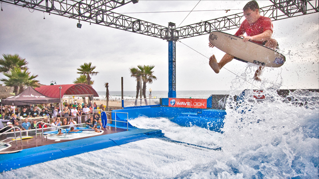 surfing wave pool technology