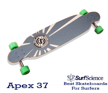 apex 37 skateboard for surfers