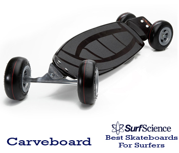 carveboard skateboard for surfers