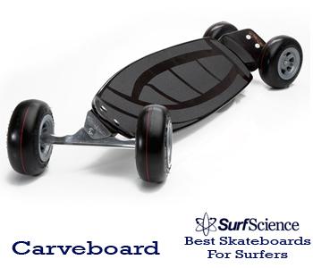 carveboard skateboard for surfers