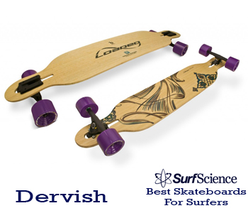 dervish skateboard for surfers