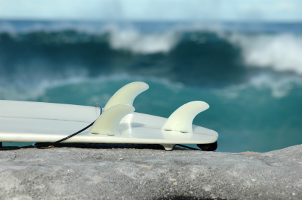 surfboard fin test drive