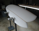 asymmetrical surfboard