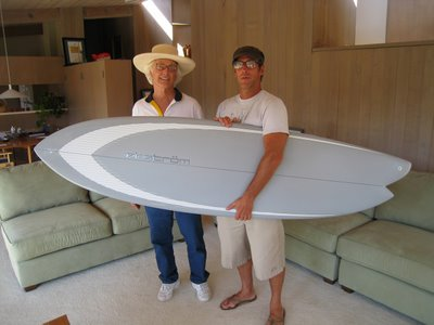 asymmetrical surfboard designs