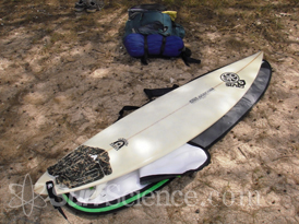 surf hiking surfboard