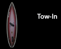 tow in surfboard