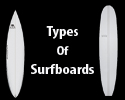 types of surfboards
