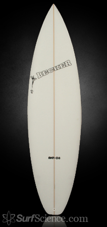 Becker BKR-08 Shortboard