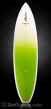 Becker becker surftech hybrid 6 39 8 surfboard review at for Hybrid fish surfboard