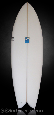 Fletcher Chouinard Designs Fish Surfboard