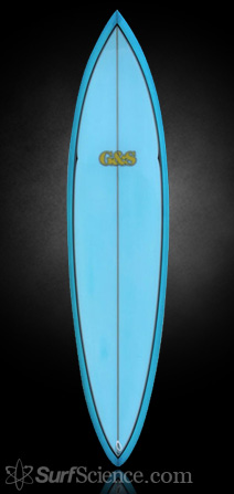 Gordon and Smith Retro Single Fin