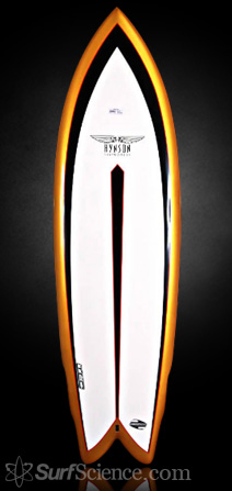 Hynson Surfboards Black Knight Quad